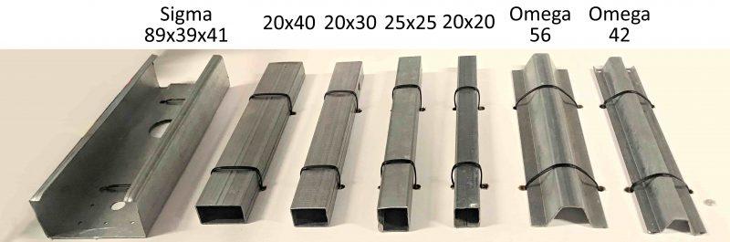 Šiltnamių rėmo pavyzdžiai