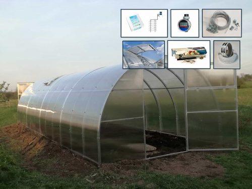 Botanik Premium išmanusis šiltnamis su laistymo sistema vėdinimu ir augalų pririšimu